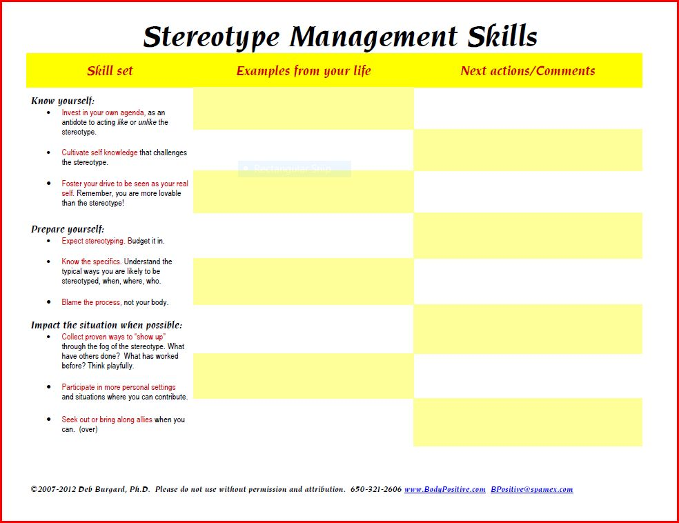 the HAES files: Stereotype Management Skills for HBO Viewers