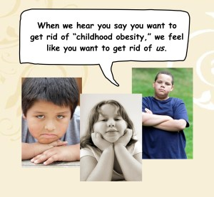 "Childhood ""obesity"""