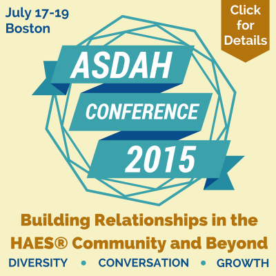ASDAH Conference Badge - Download and include on your website or in your email signature!